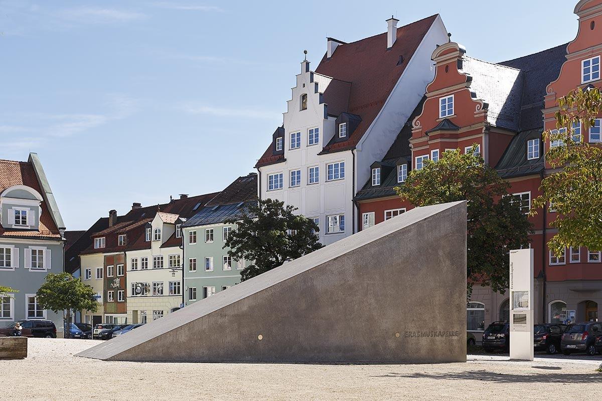 Architekten Regensburg erasmuskapelle kempten florian hammerich